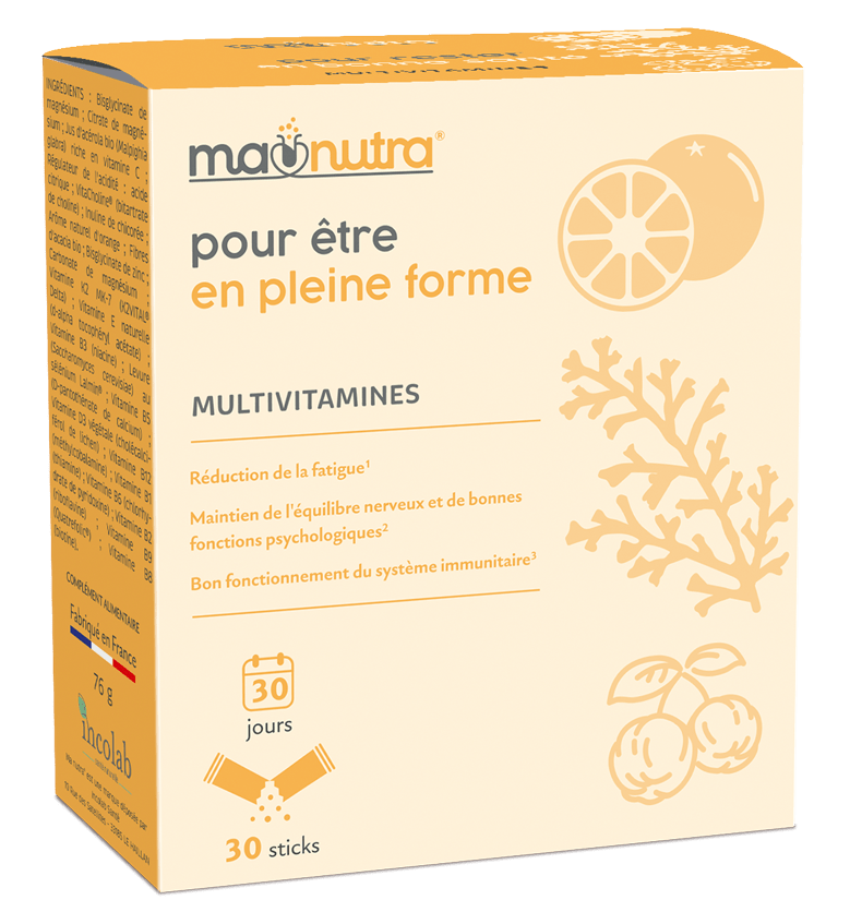 compléments alimentaires Ma Nutra® Multivitamines